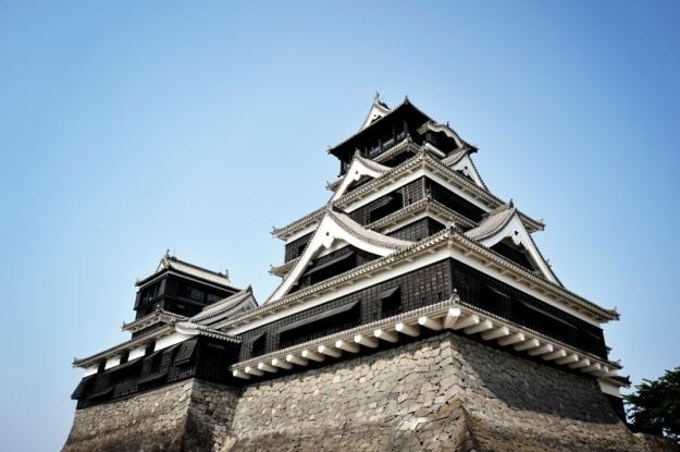 規模の大きさにびっくりした熊本城、鉄筋だったのが少し残念な気持ちです。