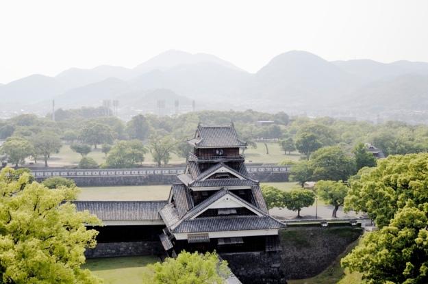 熊本城本丸から見た宇土櫓