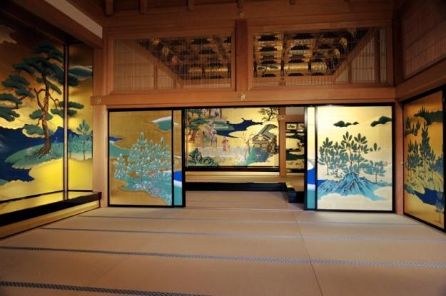 熊本城の御殿、お殿様の間
