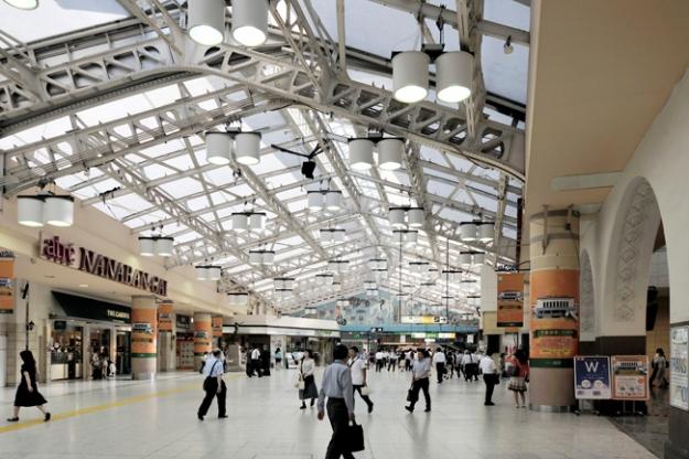 駅の雰囲気が綺麗になっていてびっくりした上野駅